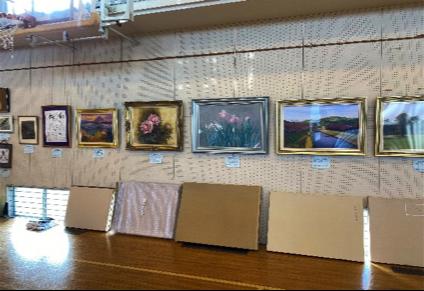 新井東部 美術展